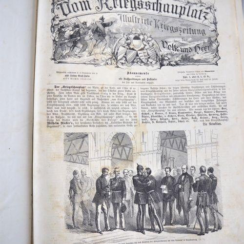 Bound journals, 1870s, 3 volumes Journaux reliés, années 1870, 3 volumes  une fo…