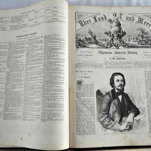 General illustrated newspaper, 2 volumes, 1863 and 1865 Journal général illustré…