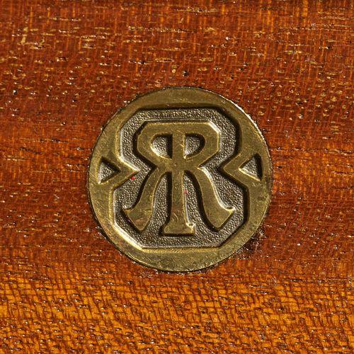 书桌 设计 Richard Riemerschmid, 1903年 执行 Deutsche Werkstätten für Handwerkskunst, Dr…