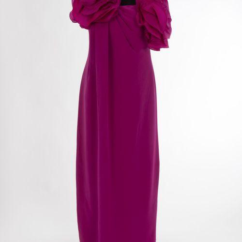 Abendkleid Marchesa Notte Robe de soirée Marchesa Notte, New York Soie, rose, ap…