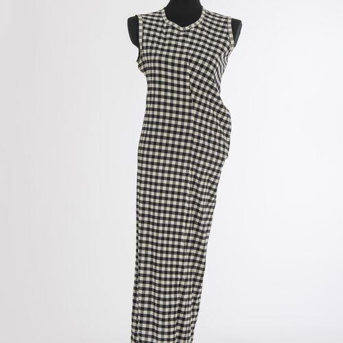 Kleid Comme des Garcons Robe Comme des Garcons, Paris Soie, carreaux Vichy noirs…