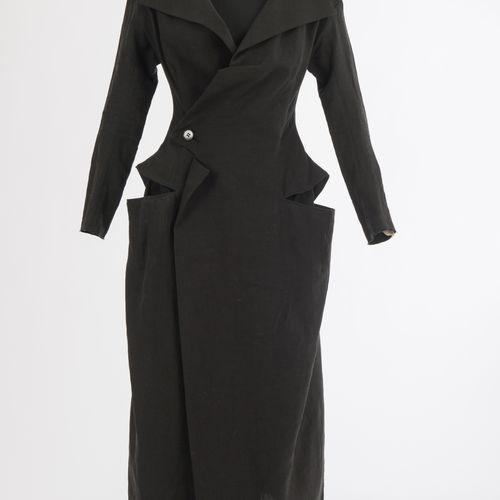 Mantelkleid Yohji Yamamoto Robe manteau Yohji Yamamoto, collection printemps été…