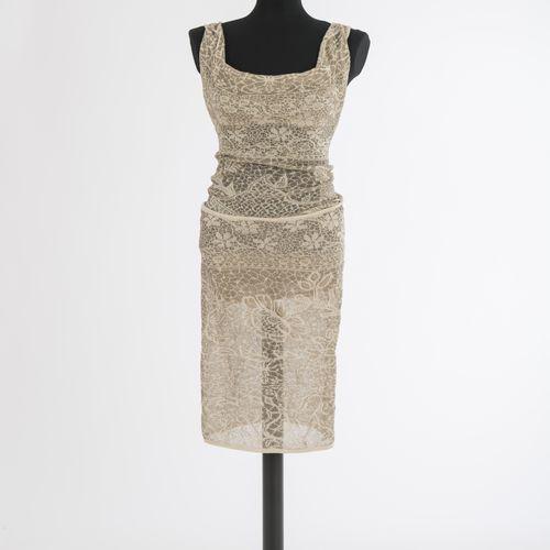Kleid Vivienne Westwood Robe Vivienne Westwood, Londres Tactel, crème, à motifs,…