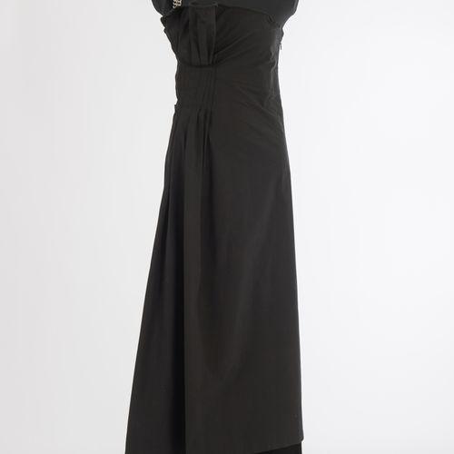 Langes Kleid Yoshi Yamamoto Robe longue Yoshi Yamamoto, Tokyo/Paris Coton, noir,…