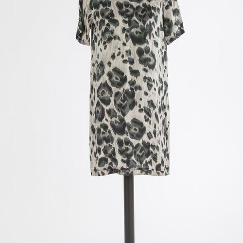 Kleid Stella McCartney Robe Stella McCartney, Londres Soie, imprimé animalier gr…