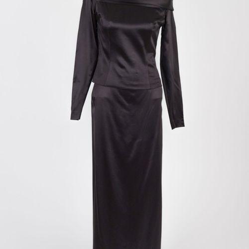 Abendkleid Robe de soirée, deux pièces, jupe et haut Talbot & Runhof, Munich Top…
