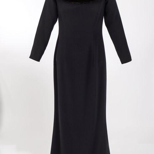 Abendkleid Escada Couture Robe de soirée Escada Couture, Munich Noir, longueur p…