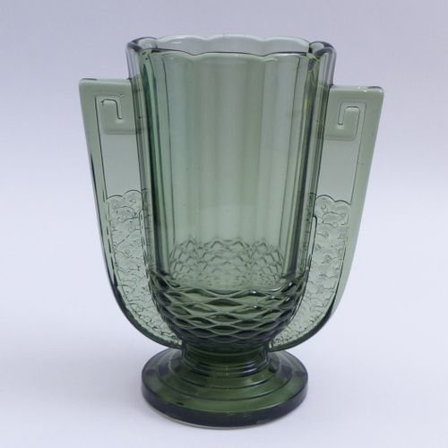 Art Déco Vase ''Romeo'', Belgien, Cristalleries du Val Saint Lambert um 1935 Art…