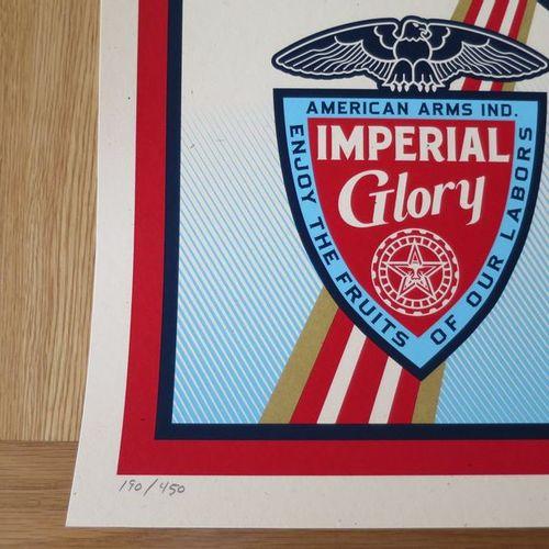 Shepard FAIREY Shepard FAIREY (Obey) Imperial Glory, 2011 Sérigraphie sur papier…
