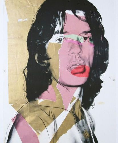 ANDY WARHOL Andy Warhol (1928 1987) (after)  Mick Jagger, 2010    Published by t…