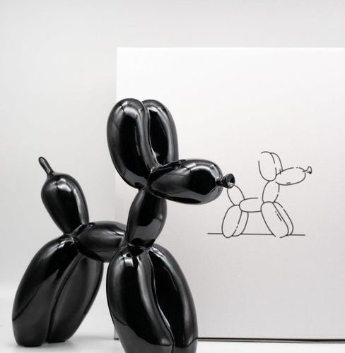 JEFF KOONS Editions Studio  Balloon Dog    Sculpture in cold cast resin in the m…