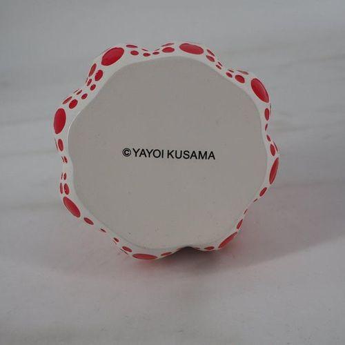 Yayoi KUSAMA Yayoi Kusama (after)  Dots Obsession (Pumpkin yellow Small)  A soft…