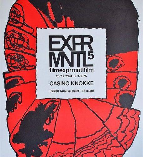 Pierre ALECHINSKY Pierre ALECHINSKY (1927) Casino Knokke    Original poster, 197…
