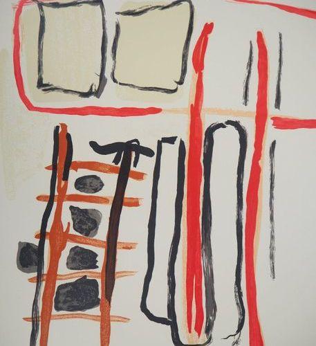 Pierre TAL COAT Pierre TAL COAT  Composition abstraite, 1956    Original lithogr…