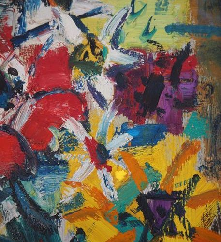 GEN PAUL Gen Paul (Eugene Paul, called)  Colorful Flowers, c. 1940    Original o…