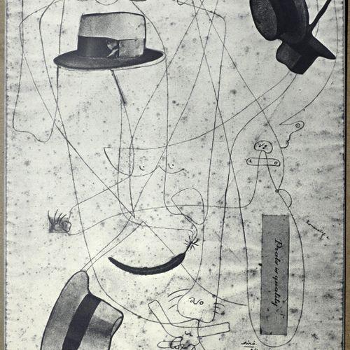 Joan Miro Joan Miro (1893 1983)     Poster of the exhibition Presencia de Joan P…