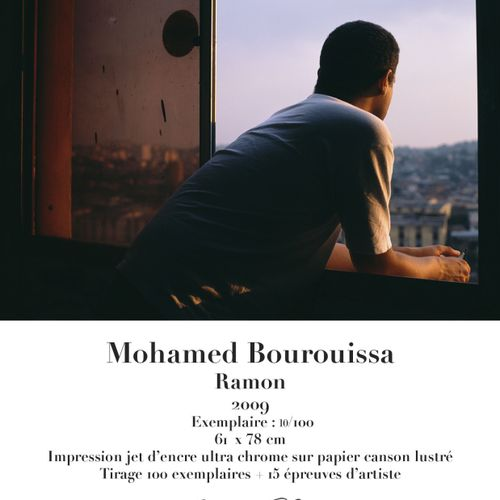 Mohamed Bourouissa Mohamed Bourouissa (1978)  Ramon, 2009    Ultra chrome inkjet…