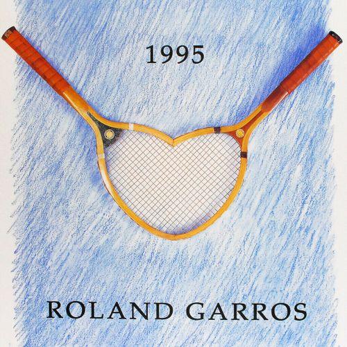 Donald Lipski Donald lipski (1947)   Roland Garros 1995     Poster in Offset pri…