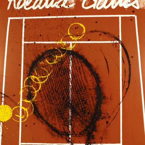 ARMAN Arman Fernandez (1928 2005)  Roland Garros, 2002    Poster in an Offset pr…