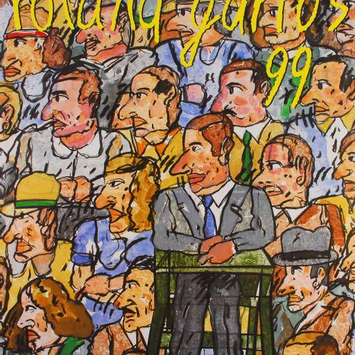 Antonio Segui Antonio Segui (1934)  Roland Garros, 1999    Poster in an Offset p…