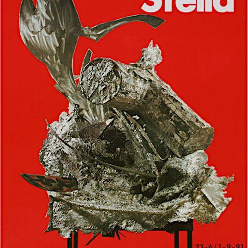 Frank Stella Frank Stella (1936)  Casino Knokke, 1991     Exhibition poster for …