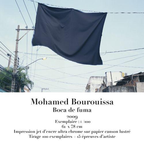 Mohamed Bourouissa Mohamed Bourouissa (1978)  Boca de fuma  2009    Ultra chrome…