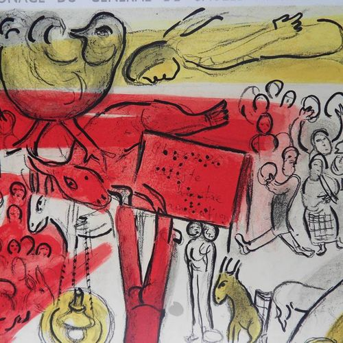 Marc Chagall Marc CHAGALL (after)  Le Cirque Revolution, 1963    Lithographic po…