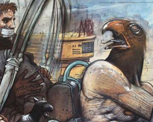 Enki BILAL Enki Bilal  Jill, Horus, Nikopol and Gogol...    Poster Art Edition  …