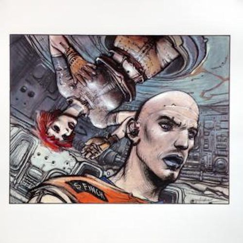 Enki BILAL Enki Bilal  Finch    Printing  Signed and numbered out of 301  Dimens…