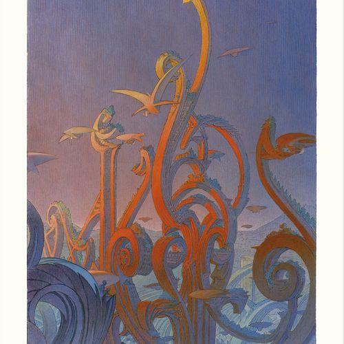 François SCHUITEN Offset printing (four colour process).  Edition: Atlantic 12  …