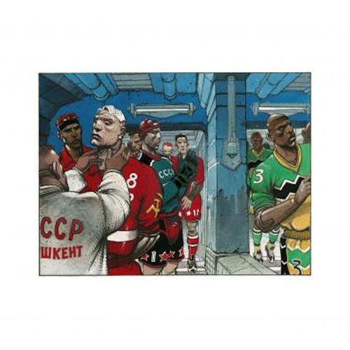Enki BILAL Enki Bilal  Off Game Wansa SidrOns    Pigment print made in the Franc…