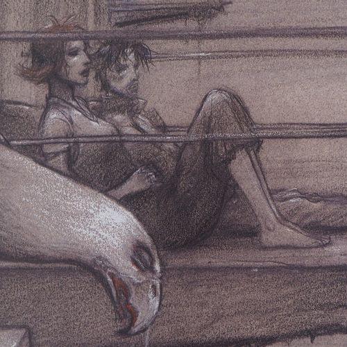 Enki BILAL Enki Bilal  Romeo and Juliet: Fatal Sign (set of three lots), 2011   …