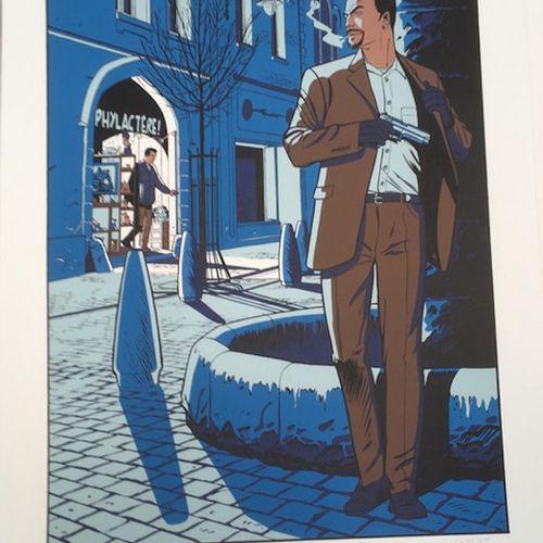 Alain Henriet Alain Henriet   Untitled     Silkscreen printing   Signed   Justif…