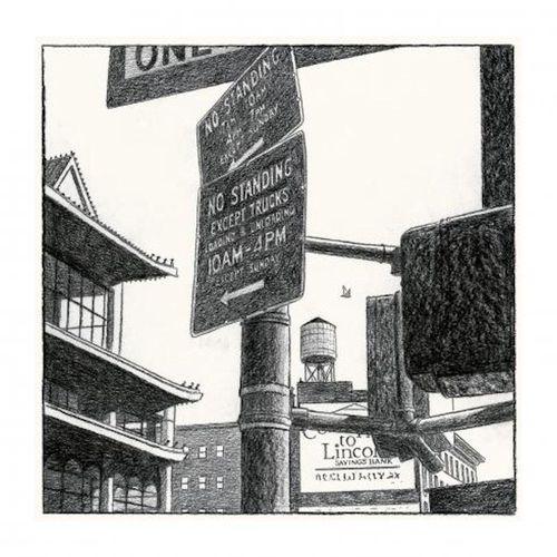 André JUILLARD André Juillard  New York Paris 4    Numbered and signed print  Ed…