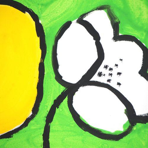 Charles Le BARS Charles LE BARS  The flowering    Original watercolor  On vellum…