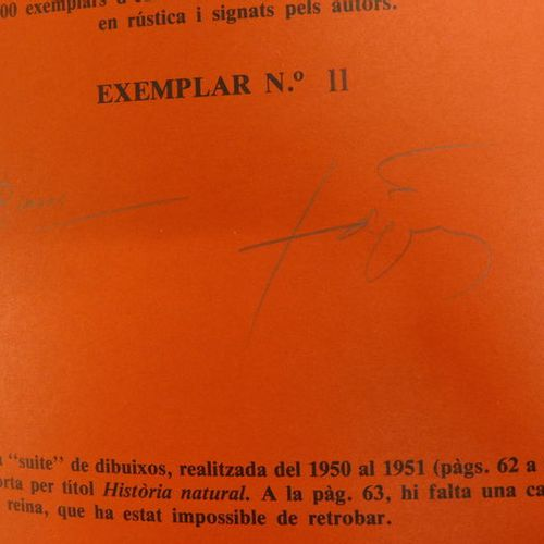 Antoni TAPIES Antoni TAPIES  No es Nigú, 1970    Artist's book reproducing the d…