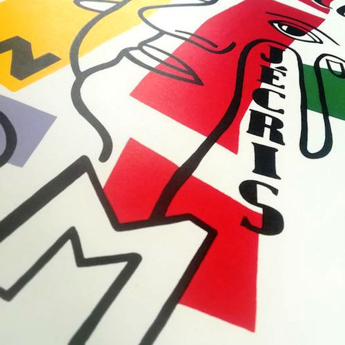 Fernand Leger Fernand Léger (1881 1955)  Freedom, I write your name    Lithograp…