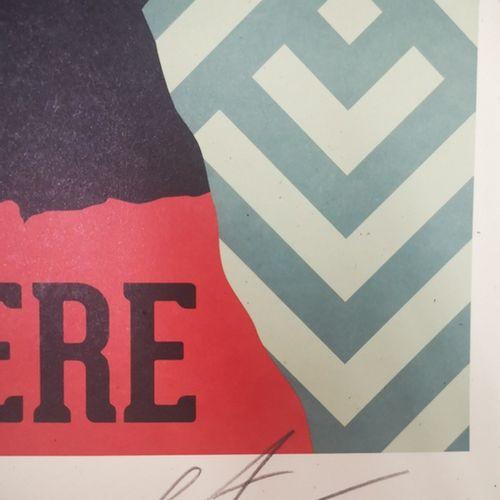 Shepard FAIREY Shepard FAIREY (Obey)  American Rage    Offset printing on Speckl…