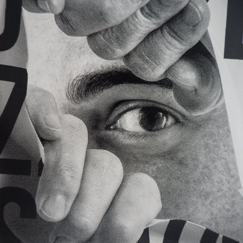JR JR (1983 ) Jean René says,  Stealthy Gaze, 2020    Screen printing on thick p…