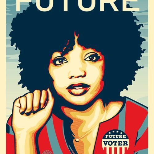 Shepard FAIREY Shepard FAIREY aka Obey Giant (USA, 1970)  We the future (power t…