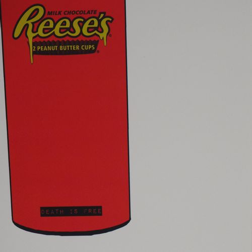 Death NYC Death NYC  Reese's can    Original Serigraph signed and numbered in pe…