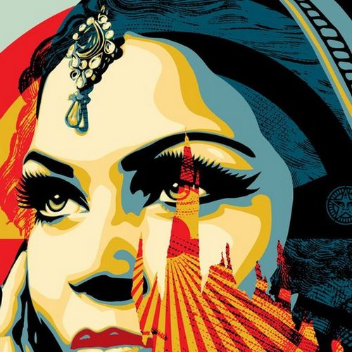 Shepard FAIREY Shepard Fairey (Obey)  Target Exceptions    Offset printing on cr…