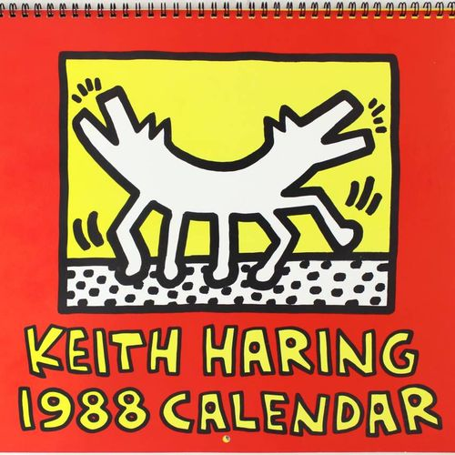 KEITH HARING Keith Haring (1958 1990)  Untitled, 1988  black marker drawing on a…