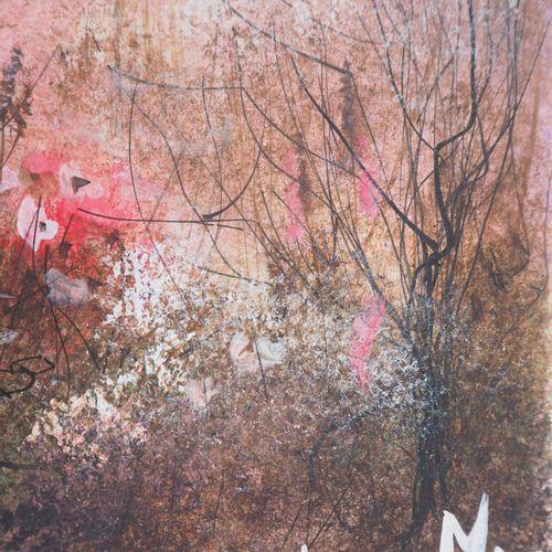 PIERRE MAS Pierre MAS  Pink Matinee  Original gouache  Signed in gouache lower r…