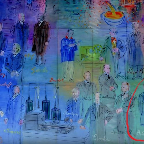 Raoul Dufy Raoul Dufy (1877 1953)   Hermann von Hermholtz Study of The Electrici…