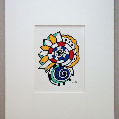 Fernand Leger Fernand LEGER (1881 1955) (d'après)  Escargot, 1956  Lithographie …