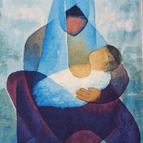 Louis TOFFOLI Louis Toffoli  Maternité  Tapisserie de laine par les Editions Rob…