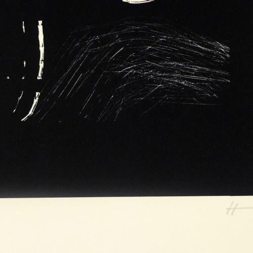 Hans Hartung Hans Hartung  AL 4, 1977  Lithographie sur papier Guarro, signée et…