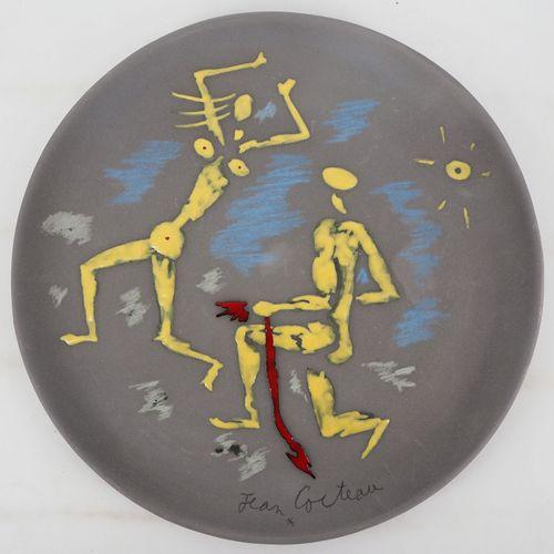 JEAN COCTEAU Jean COCTEAU (1889 1963)  Atalante et Hippomème (1958)   Grande cou…