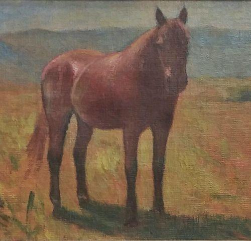 Giovanni Malesci Giovanni MALESCI  马,1940年     布面油画   27 x 34 厘米    拍品将由我们的承运人负责…